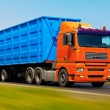Freight truck - Stock Photo