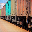 Freight train - Stock Photo