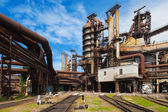 Metallurgical works — 图库照片