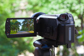 High definition camcorder — Stock Photo