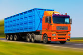Freight truck — Stock Photo