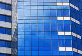 Reflective business building — Stock Photo