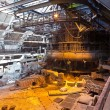 Stock Photo: Blast-furnace shop