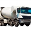 Concrete mixer — Stock Photo #4358066