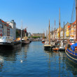 Copenhagen, Nyhavn — Stock Photo