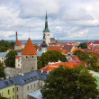 Panorama of Tallinn, Estonia - Stock Photo