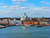 Helsinki, historical center — Stock Photo