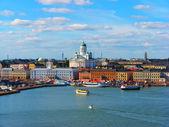 Helsinki, historical center — Stock Photo