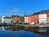 Old Town street in Copenhagen, Denmark — Stock Photo