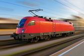 Modern european electric locomotive — Stock Photo