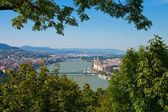 Panorama of Budapest, Hungary — Stock fotografie