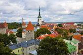 Panorama of Tallinn, Estonia — Stock Photo