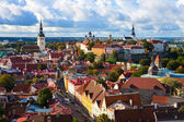 Panorama of the Old Town in Tallinn, Estonia — Stock Photo