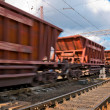 Freight train — Stock Photo #4379921
