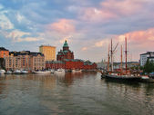 Evening Helsinki — Stock Photo