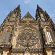 St. Vitus Cathedral - 图库照片