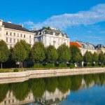 Belvedere garden in Vienna, Austria — Stock Photo
