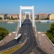 Elisabeth Bridge in Budapest, Hungary — Stock Photo