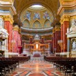 Interior of Stephen's Basilica in Budapest, Hungary — Stock Photo