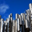Sibelius monument in Helsinki, Finland — Stock Photo #4380073
