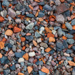 Natural gravel texture — Stock Photo