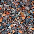 Natural gravel texture — Stockfoto