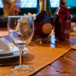 Served restaurant table — Stock Photo #4380258