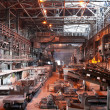 Stock Photo: Interior of metallurgical plant workshop