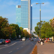 Business district in Warsaw, Poland — Stock Photo