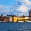 de oude stad van stockholm, Zweden — Stockfoto