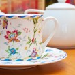 Porcelain crockery - Stock Photo