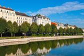 Belvedere garden in Vienna, Austria — Stock Photo