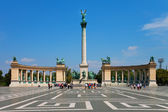 Heroes Square in Budapest, Hungary — Stock Photo