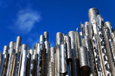 Sibelius monument in Helsinki, Finland — Stock Photo