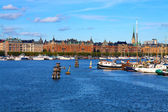 The Old Town in Stockholm, Sweden — Stock Photo