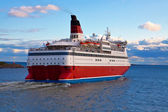 Big cruise liner — Stock Photo