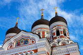Alexander Nevsky Cathedral in Talllinn, Estonia — Стоковое фото