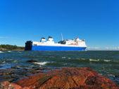 Vracht tanker — Stockfoto