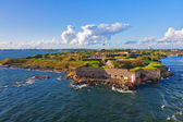 Suomenlinna fortress in Helsinki, Finland — Stock Photo
