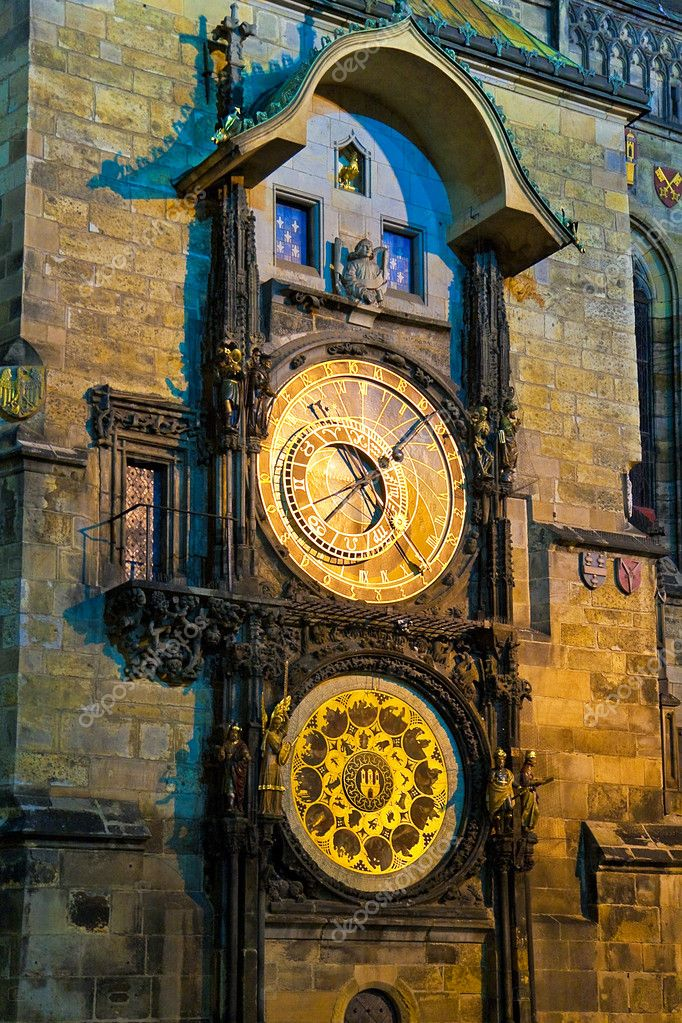 Astronomical Clock in Prague, Czech Republic  Stock Photo #4380003