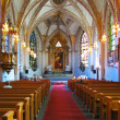 Catholic church interior — Stock Photo #4424710