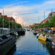 Canal in Copenhagen, Denmark - Stock Photo