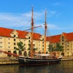 Old ship in Copenhagen, Denmark — Stock Photo #4426980