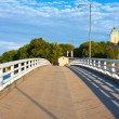 Bridge on Sveaborg island in Helsinki, Finland — Stock Photo