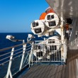 On the ship deck — Stock Photo