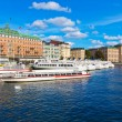 The Old Town in Stockholm, Sweden — ストック写真