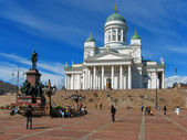 Sénat place, helsinki, Finlande. — Photo