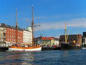 Old Town in Copenhagen, Denmark — Stock Photo
