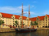 Old ship in Copenhagen, Denmark — Stock Photo