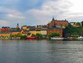 Overcast Stockholm — Stock Photo